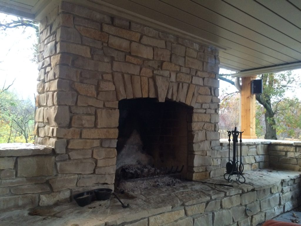 Fireplace Installation In Springfield Rick Williams Masonry
